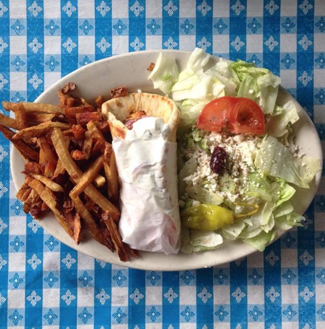 Demo's Greek Food - PHOTO VIA INSTAGRAM / GABO.TX