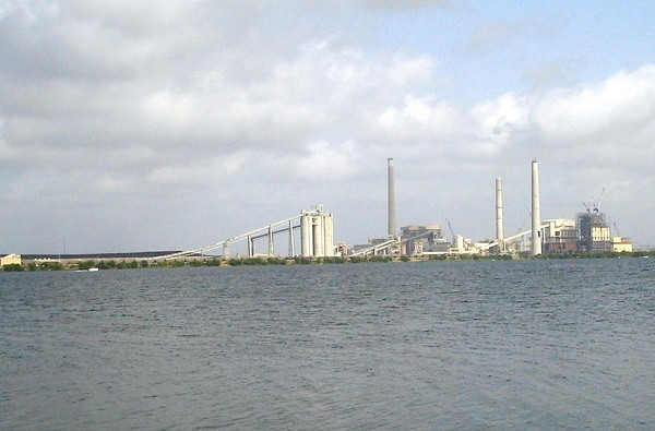 CPS's J.T. Deely coal plant is slated to close by year-end. - COURTESY