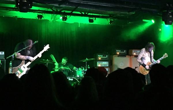 """Stoner rock icons Sleep pummel through their show closer, """"Dragonaut."""" - SANFORD NOWLIN"""