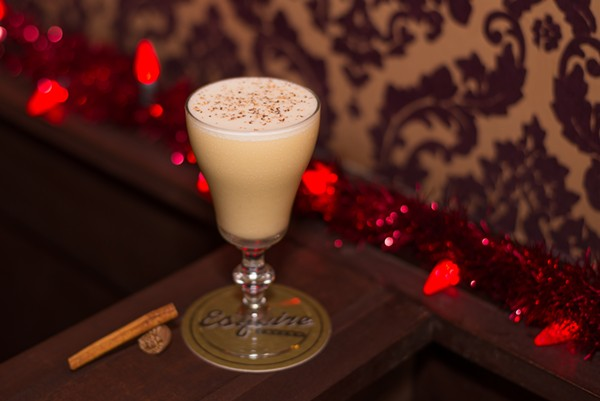 Esquire's traditional egg nog - KODY MELTON