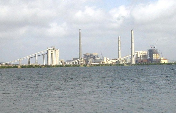 CPS's J.T. Deely coal plant has closed, but its environmental contamination lives on, according to a new research report. - COURTESY