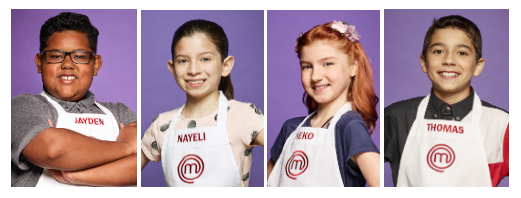 PHOTO COURTESY OF MASTERCHEF JUNIOR