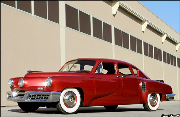 Tucker Torpedo, 1948. On loan from the Richard L. Burdick Collection. - TRENT SHERRILL