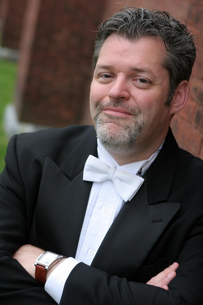 Troy Peters, Music Director of YOSA - TROY PETERS