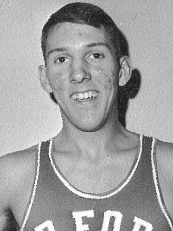 A rare picture of Coach Pop smiling. - COURTESY OF THE AIR FORCE ACADEMY