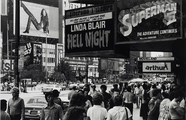 LOUIS CLYDE STOUMEN, HELL NIGHT, TIMES SQUARE