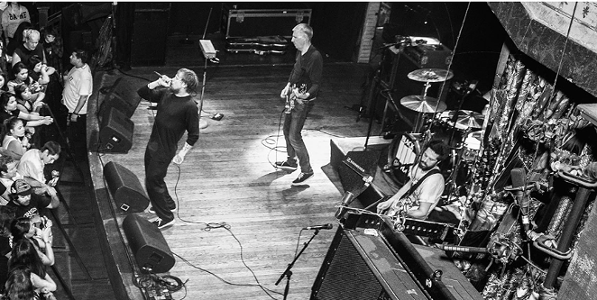 Greg Ginn's Black Flag performs live. - COURTESY PHOTO
