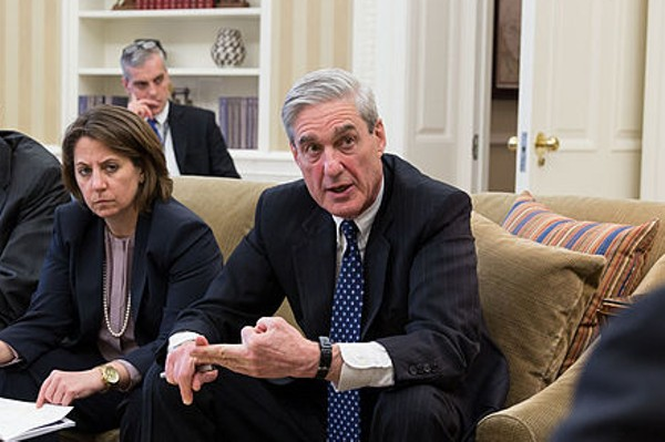 Robert Mueller shown in a White House file photo. - WHITE HOUSE