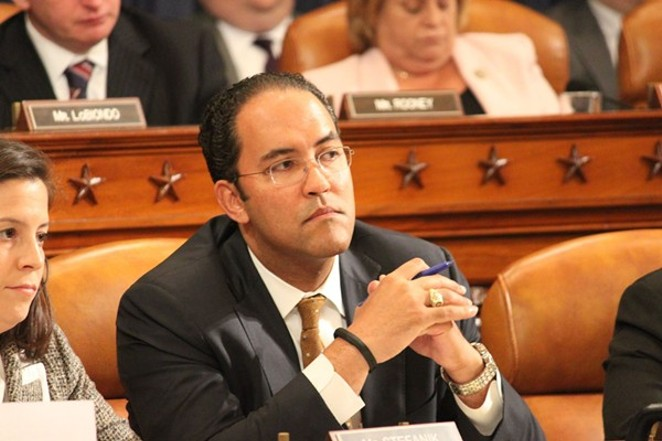 Despite occasional slams at President Trump, Rep. Will Hurd votes in line with the president's positions 82 percent of the time. - FACEBOOK / REPRESENTATIVE WILL HURD