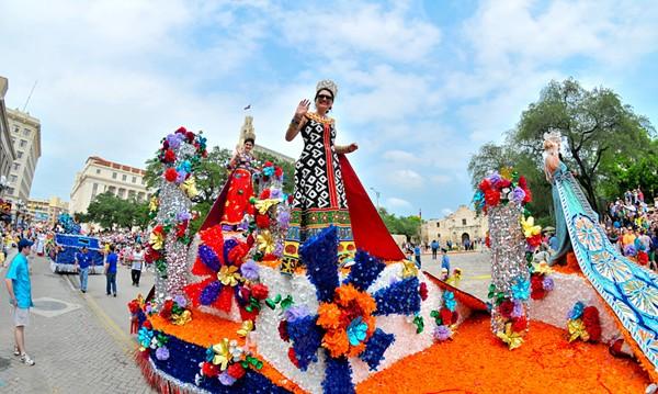 BATTLE OF FLOWERS ASSOCIATION, JAVIER FERNANDEZ AND JON ALONZO