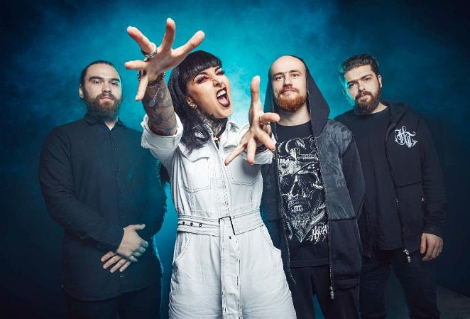 Jinjer - COURTESY OF JIJER