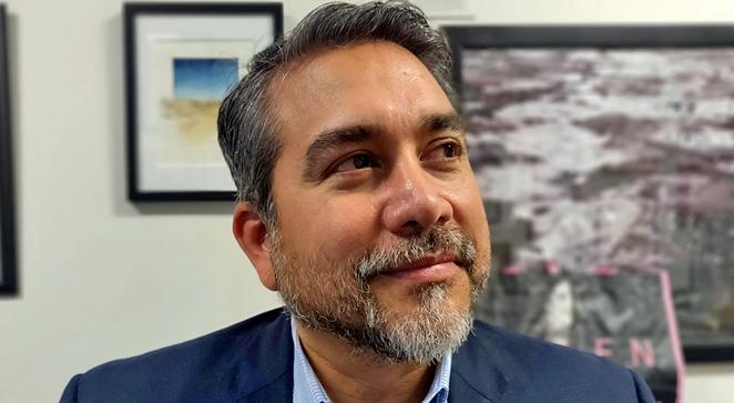 Councilman Roberto Treviño kept his District 1 seat, besting a well-funded competitor. - JADE ESTEBAN ESTRADA