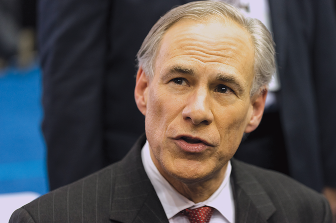 Gov. Greg Abbott endorsed a plan to pay for long-term school district tax cuts by hiking sales taxes. - GAGE SKIDMORE