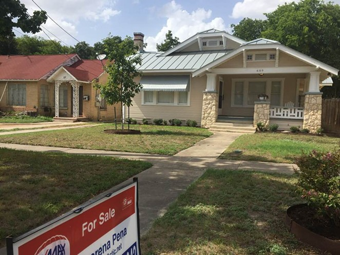 San Antonio homeowners have been squeezed by rising appraisal values. - SANFORD NOWLIN