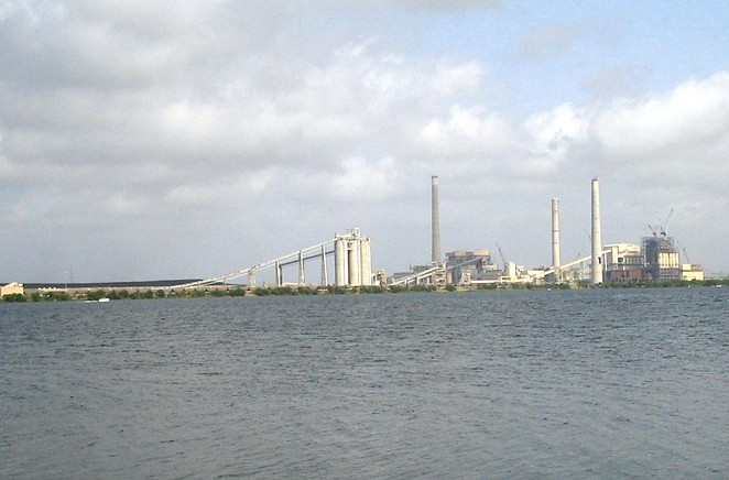 CPS's J.T. Deely coal plant has closed, but environmental groups are urging the utility to close its two remaining fossil-fuel facilities. - COURTESY