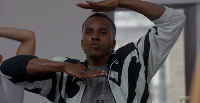 Karma auditioning for the Blonde Ambition Tour in Episode 5 of Pose Season 2 - SCREEN GRAB, POSE EPISODE 5