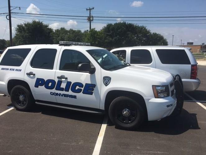 FACEBOOK / CONVERSE POLICE DEPARTMENT