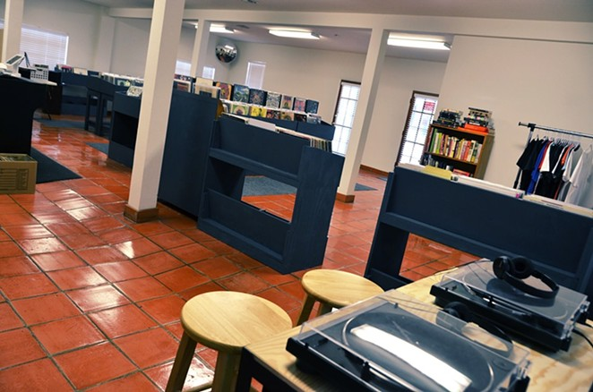 Listening stations and a diverse selection of vinyl await customers at the newly opened Crazy Rhythms. - CHRIS CONDE