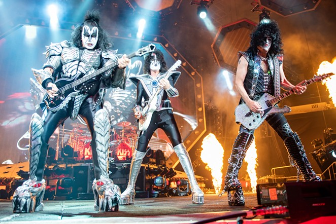 Members of KISS decimate San Antonio. - JAIME MONZON