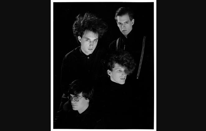 Top left Chris Smart - vocals bass. Top right Mark Semmes guitar. Bottom left Jeff Hoskins drums - bottom right Charles Gruber keys.