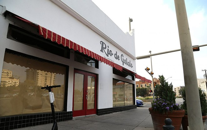 Thai Lucky is opening a new location at 102 Navarro St., which was last occupied by Rio de Gelato. - BEN OLIVO / HERON