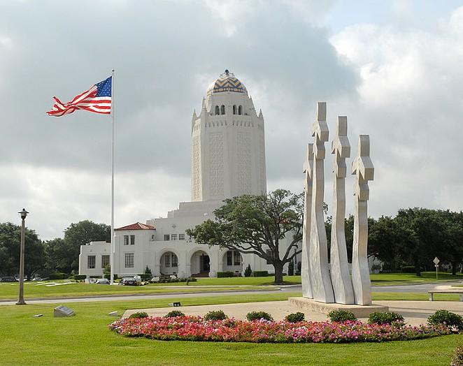 The administration building San Antonio's Joint Base San Antonio-Randolph - RICH MCFADDEN / U.S. AIR FORCE