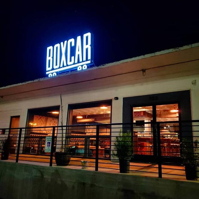FACEBOOK / BOXCAR BAR