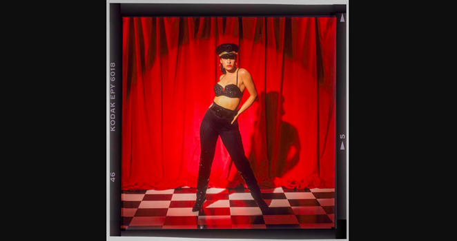 Selena is shown in a 1992 print from photographer John Dyer. - JOHN DYER