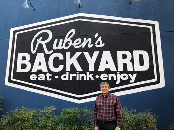 FACEBOOK / RUBEN'S BACKYARD