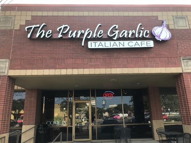FACEBOOK / THE PURPLE GARLIC ITALIAN CAFE