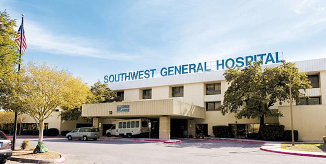 GOOGLE MAPS / SOUTHWEST GENERAL HOSPITAL