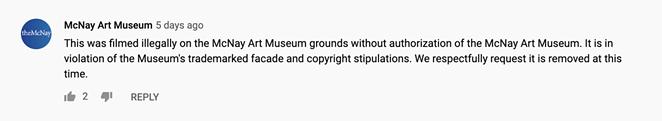 YOUTUBE / MCNAY ART MUSEUM