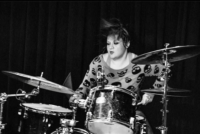 Phanie Diaz performs during a FEA gig. - FACEBOOK / PHANIE DIAZ