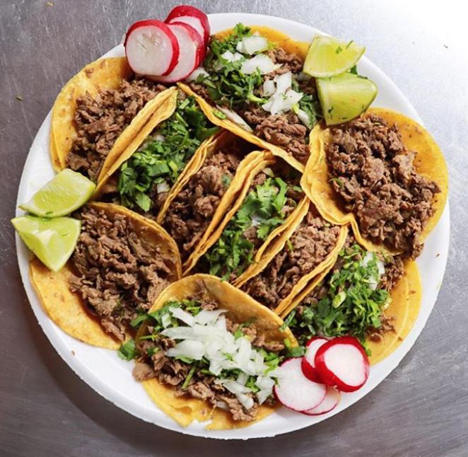 Tacos from Taquitos West Ave. - PHOTO VIA INSTAGRAM / SANANTONIOMUNCHIES