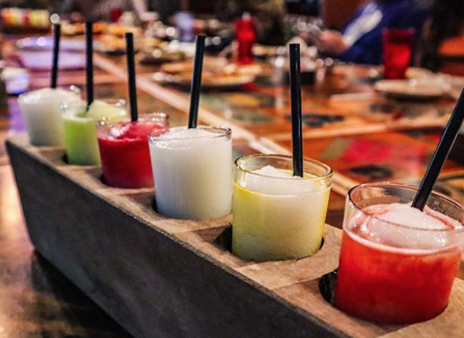 A margarita flight at Taco Garage - PHOTO VIA INSTAGRAM / SANANTONIOMUNCHIES