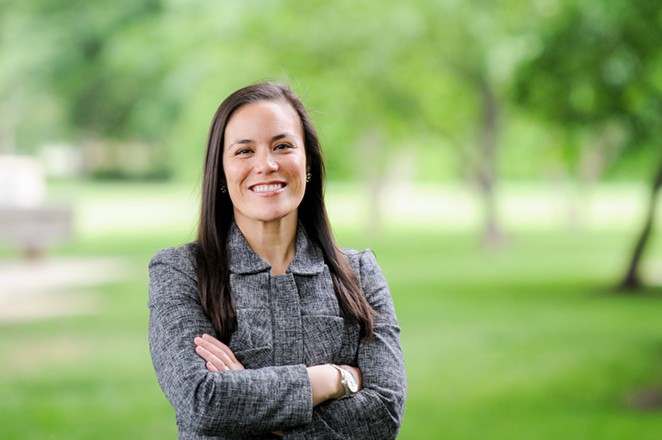Gina Ortiz Jones is running to represent the South Texas district being vacated by retiring GOP House member Will Hurd. - COURTESY PHOTO