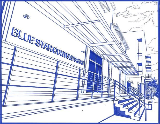 ALEX RUBIO/ BLUE STAR CONTEMPORARY COLORING BOOK