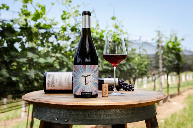 The wine will be available at H-E-B, Twin Liquors, Whole Foods Market and several independent bottle shops throughout Texas starting this week. - MADISON BOUDREAUX