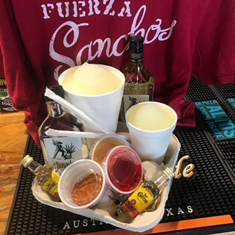 Sancho's is offering its margarita take-home kits at a discount for Cinco de Mayo. - FACEBOOK / SANCHOSMX