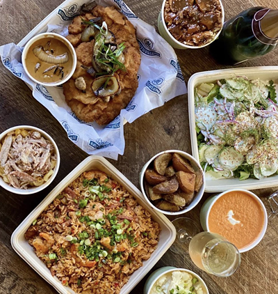 Southerleigh's Mother's Day spread. - INSTAGRAM /  SOUTHERLEIGH