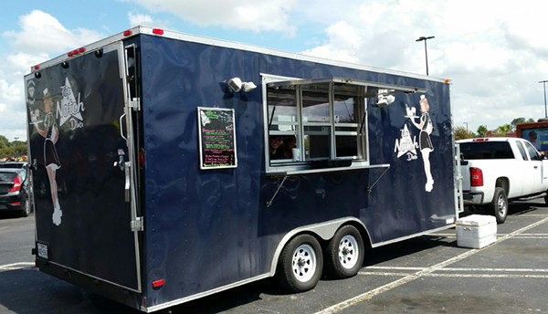 Top Notch Diner food trailer was stolen, but recovered quickly thanks to attentive social media followers. - FACEBOOK / TOPNOCHEATSDINER