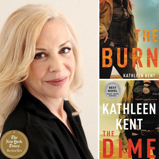 Kathleen Kent's The Burn is slated for June. - FACEBOOK / WRITINGWORKSHOPSDALLAS