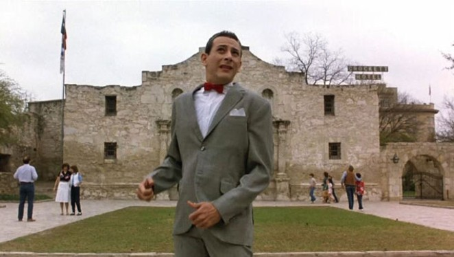 The New York Times could learn a lesson or two from Pee-wee Herman. - WARNER HOME VIDEO