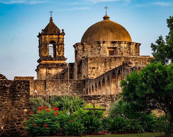 The San Antonio Missions are among the landmarks and parklands that have received funding under the LWCF. - PHOTO VIA INSTAGRAM / JACOBFBRYANT