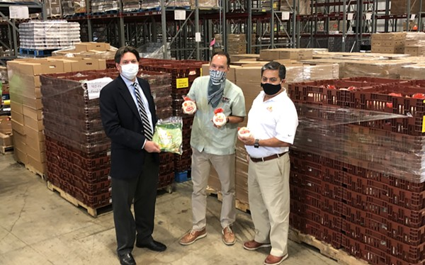 Mission Foods has donated more than 37,920 servings of food to the SA Food Bank - COURTESY MISSION FOODS