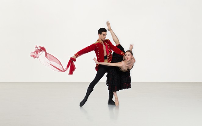 Ballet SA performed Roland Petit's Carmen in early 2019. - COURTESY OF BALLET SAN ANTONIO