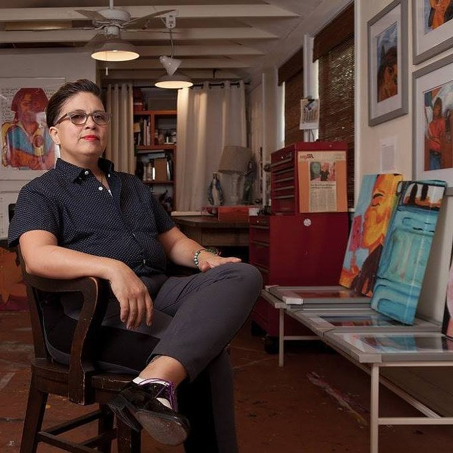 Anel Flores is one of the featured authors in the Queer Voices reading. - FACEBOOK / ANEL I. FLORES STUDIO