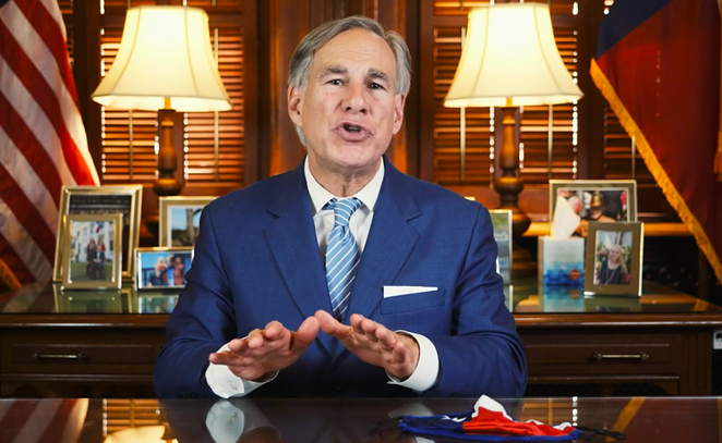 STATE OF TEXAS / SCREEN CAPTURE