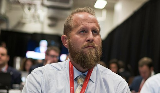 Former San Antonio resident Brad Parscale has been demoted from his position as Trump 2020 campaign manager. - TWITTER / BRAD PARSCALE