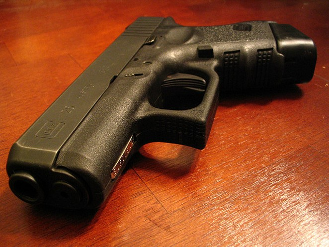 Licensed Texans will soon be able to carry concealed handguns into public university buildings. - VIA FLICKR USER KEARY O.